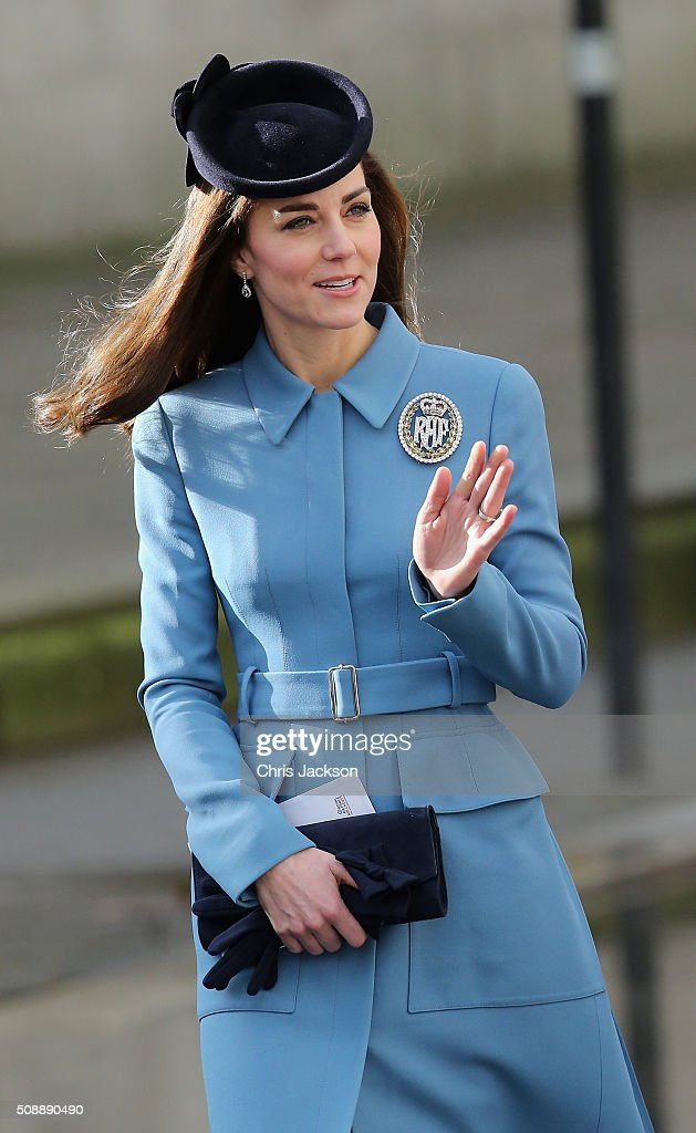 Duchess Of Cambridge Marks 75th Anniversary of RAF Air Cadets : Nachrichtenfoto