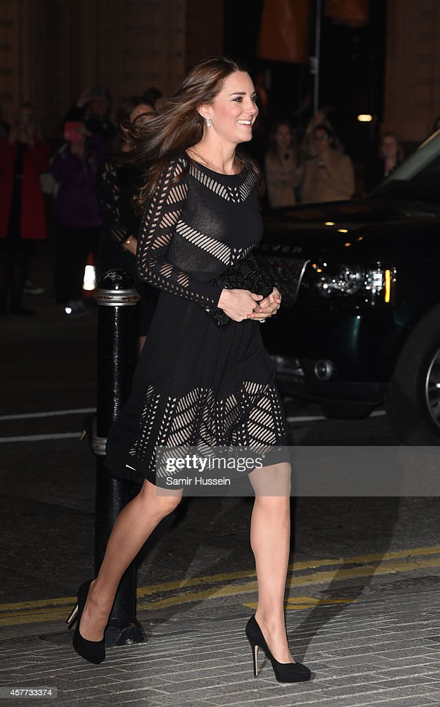 The Duchess Of Cambridge Attends Action On Addiction Dinner : News Photo
