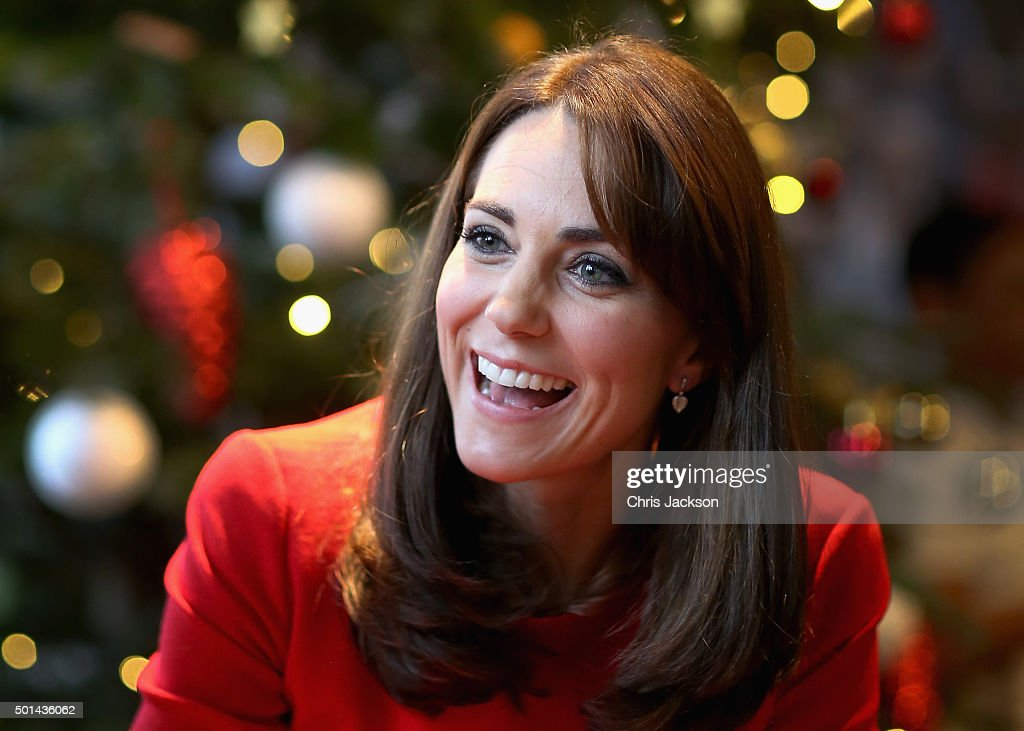 The Duchess Of Cambridge Attends The Anna Freud Centre Family School Christmas Party : News Photo