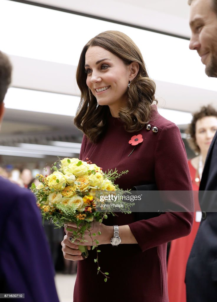Catherine, Duchess Of Cambridge Attends Place2Be School Leaders Forum : News Photo