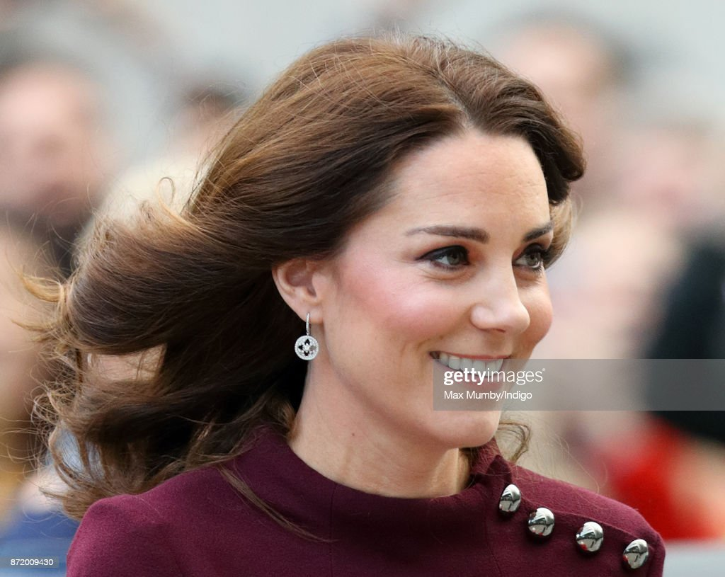 The Duchess Of Cambridge Attends Place2Be School Leaders Forum : News Photo