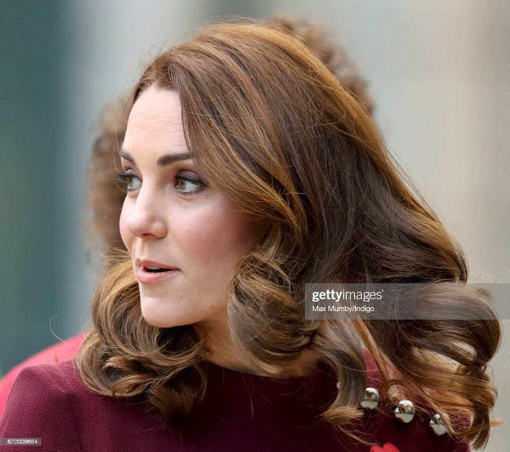Catherine, Duchess of Cambridge attends the annual Place2Be School Leaders Forum at UBS London on November 8, 2017 in London, England. The Duchess of Cambridge is Patron of Place2Be, a National Children's mental health charity.