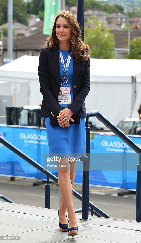 Royal Family & Celebrities At The Commonwealth Games : Nieuwsfoto's