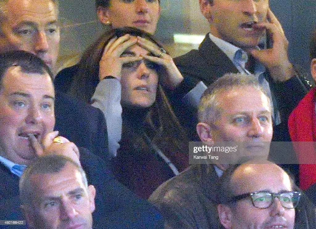 Royals And Celebrities Attend The Rugby World Cup : News Photo