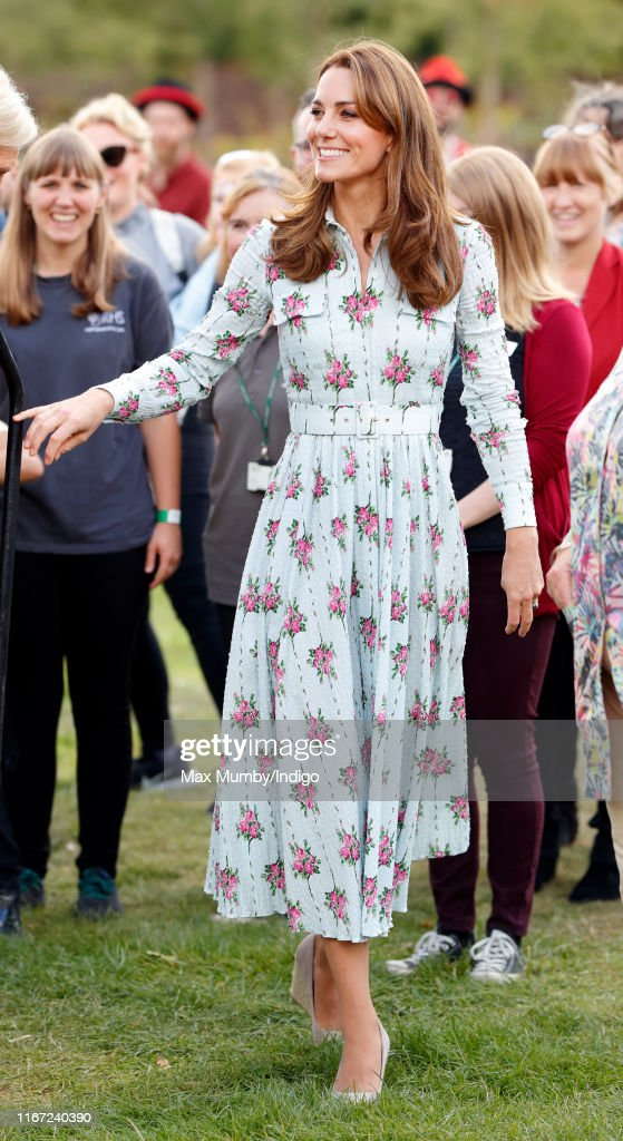 """The Duchess Of Cambridge Attends """"Back to Nature"""" Festival : News Photo"""