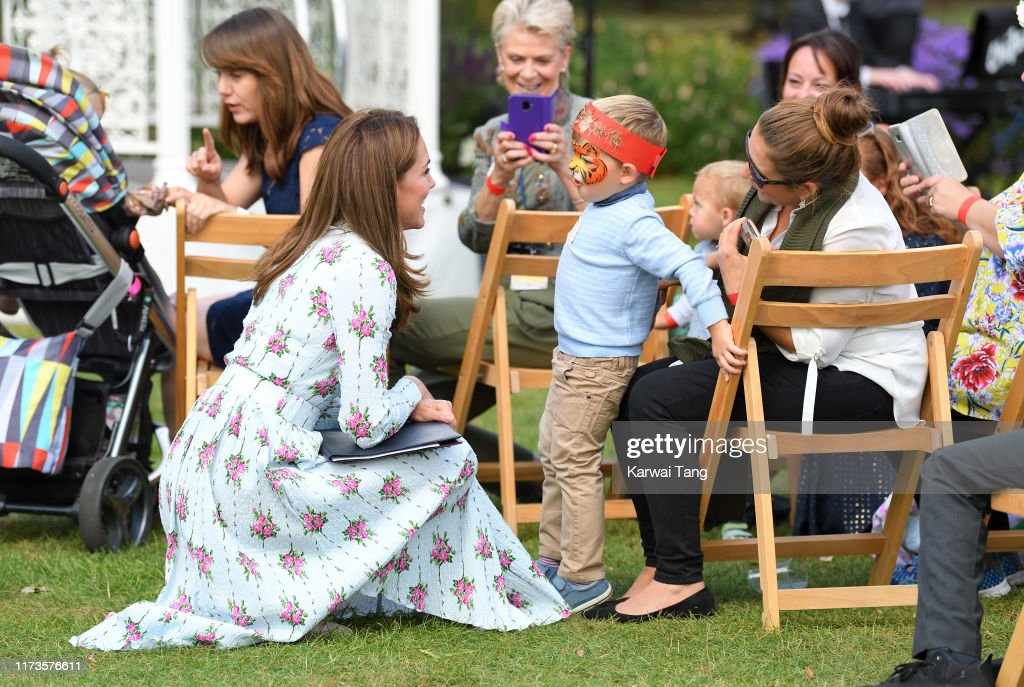 "The Duchess Of Cambridge Attends ""Back to Nature"" Festival : Nachrichtenfoto"