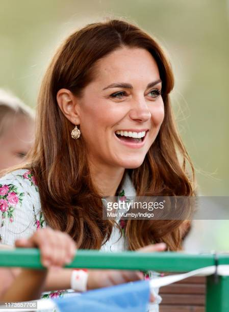 """Catherine, Duchess of Cambridge attends the """"Back to Nature"""" festival at RHS Garden Wisley on September 10, 2019 in Woking, England."""