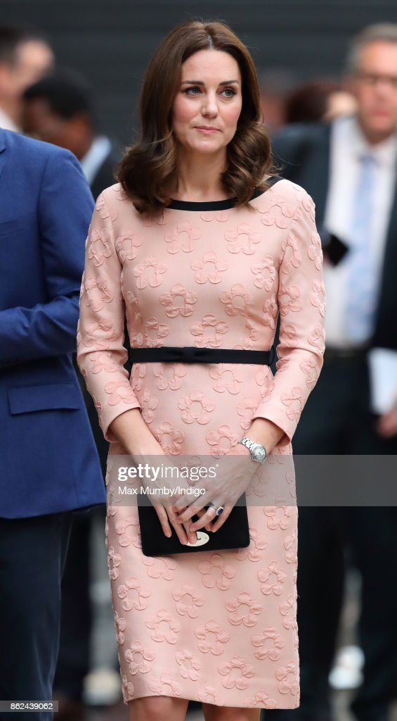 Catherine, Duchess of Cambridge attends the Charities Forum Event at Paddington Station on October 16, 2017 in London, England.