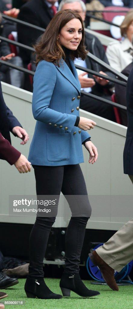 The Duke Of Cambridge & Prince Harry Attend The Coach Core Graduation : News Photo