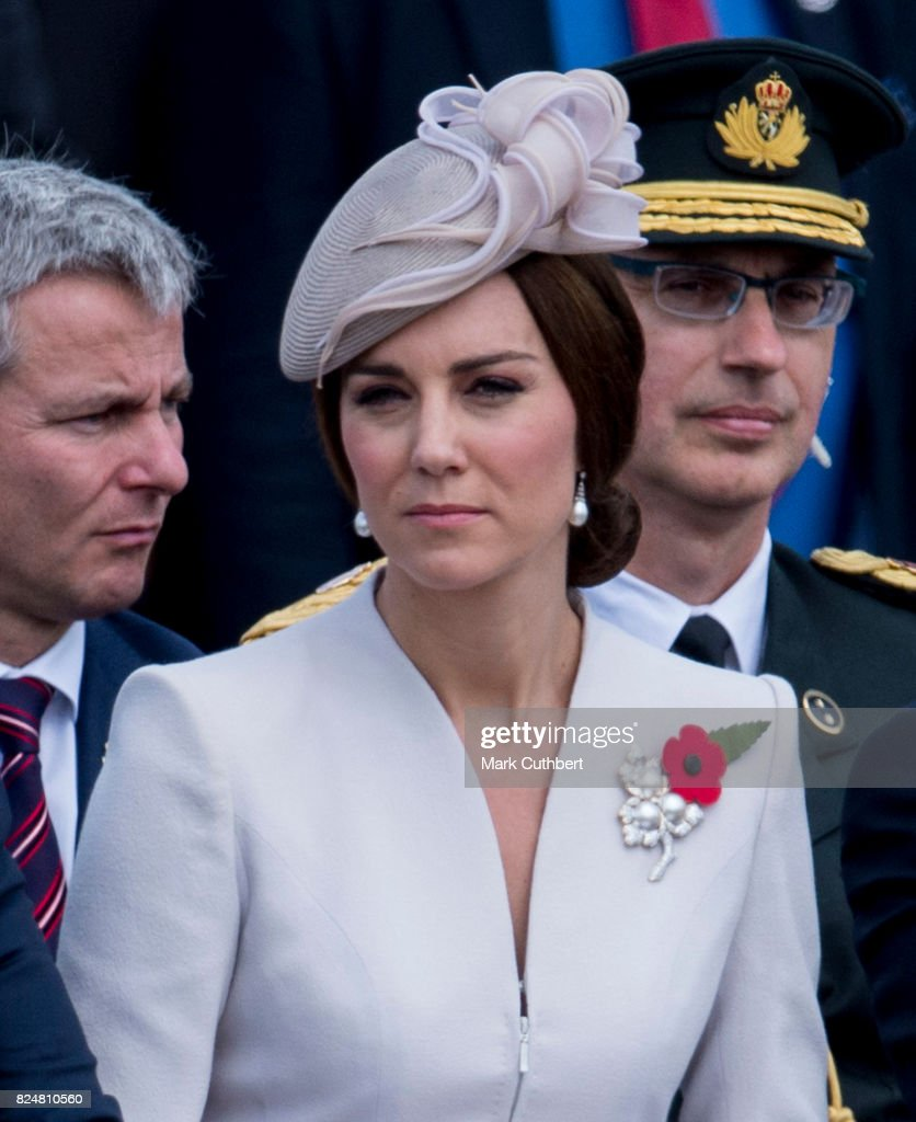 Members Of The Royal Family Attend The Passchendaele Commemorations In Belgium : News Photo