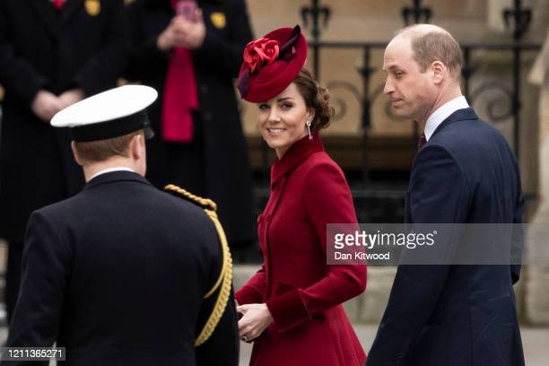 Catherine, Duchess of Cambridge attends the Commonwealth Day Service 2020 at Westminster Abbey on March 09, 2020 in London, England. The Commonwealth...