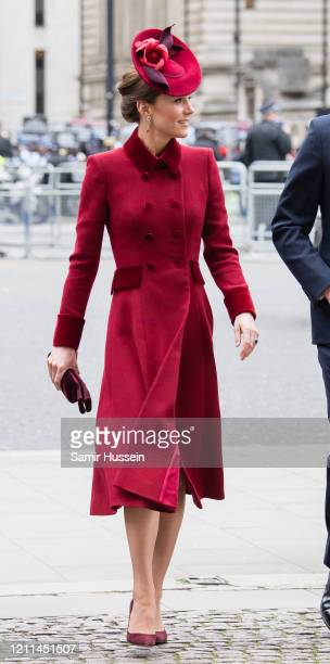 Catherine, Duchess of Cambridge attends the Commonwealth Day Service 2020 on March 09, 2020 in London, England.