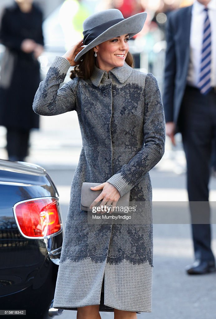 Catherine, Duchess of Cambridge attends the Commonwealth Observance Day Service at Westminster Abbey on March 14, 2016 in London, England. The service is the largest annual inter-faith gathering in the United Kingdom and will celebrate the Queen's 90th birthday. Kofi Annan and Ellie Goulding will take part in the service.