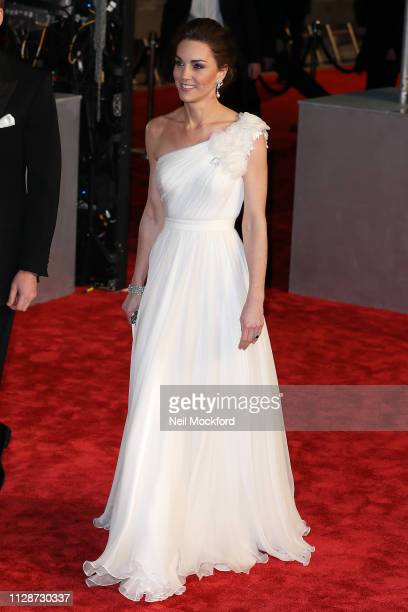 Catherine Duchess of Cambridge attends the EE British Academy Film Awards at Royal Albert Hall on February 10 2019 in London England