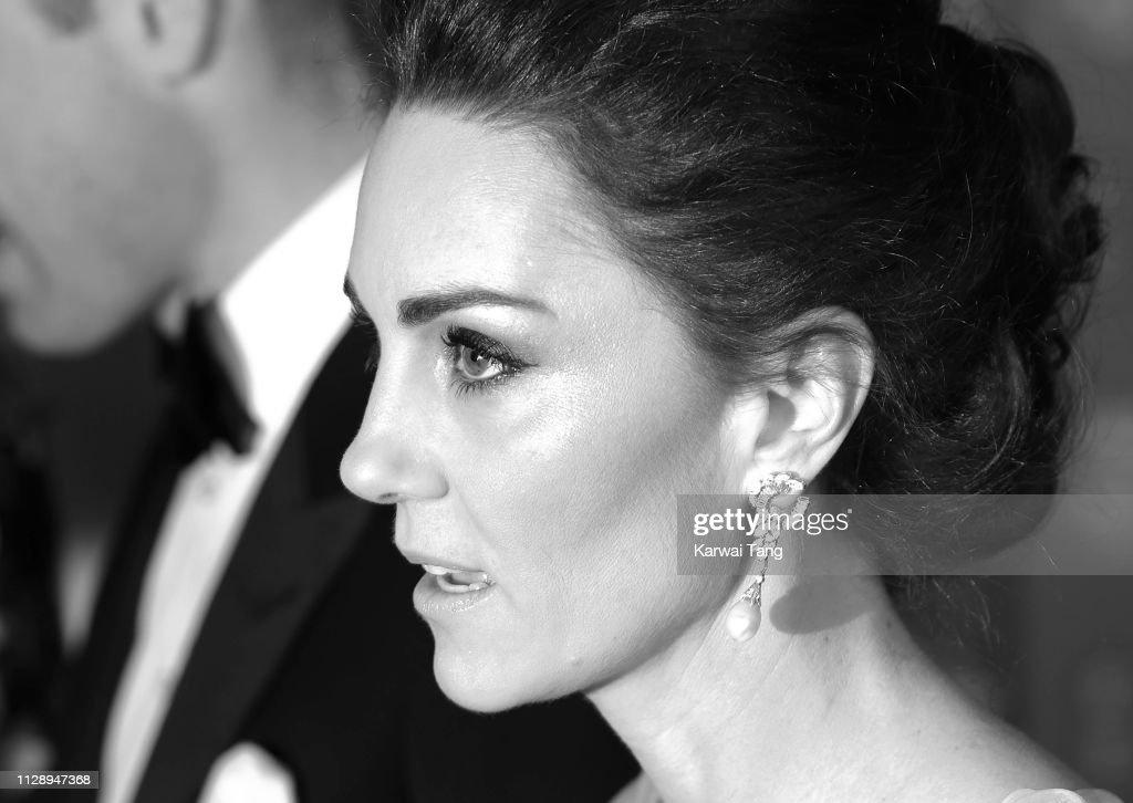 EE British Academy Film Awards - Red Carpet Arrivals : Nieuwsfoto's