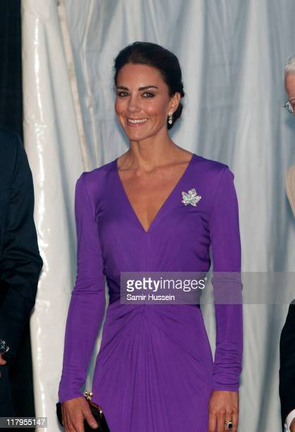 Catherine Duchess of Cambridge attends the Evening National Canada Day Celebrations on day 2 of the Royal Couple's North American Tour on July 1 2011...