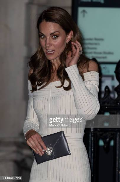 Catherine, Duchess of Cambridge attends the first annual gala dinner in recognition of Addiction Awareness Week at Phillips Gallery on June 12, 2019...