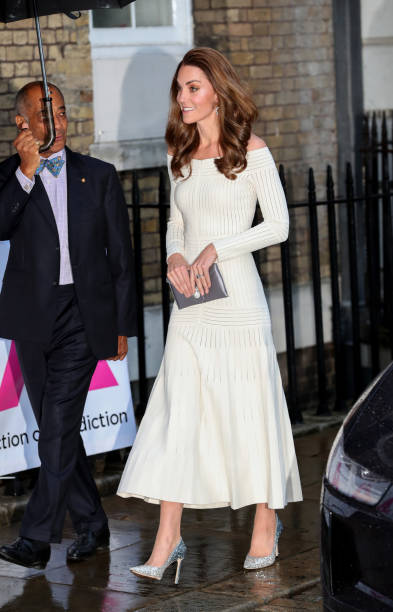 GBR: The Duchess of Cambridge Attends Addiction Awareness Week Gala Dinner