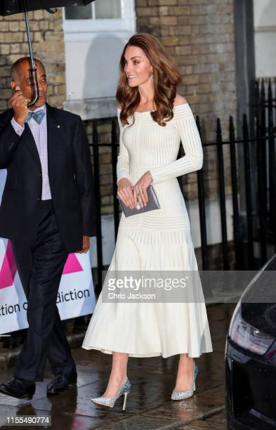 Catherine Duchess of Cambridge attends the first annual gala dinner in recognition of Addiction Awareness Week at the Phillips Gallery on June 12...