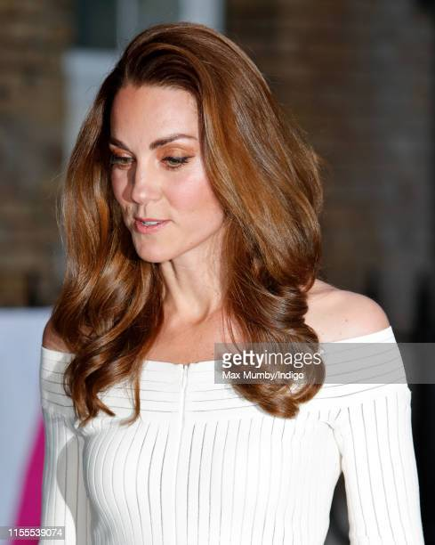Catherine Duchess of Cambridge attends the first annual gala dinner in recognition of Addiction Awareness Week at Spring Restaurant Somerset House on...