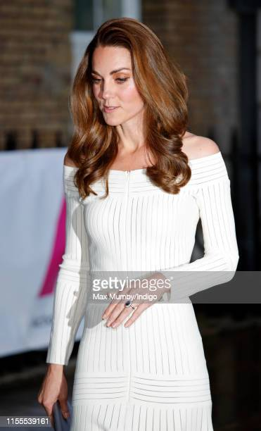 Catherine, Duchess of Cambridge attends the first annual gala dinner in recognition of Addiction Awareness Week at Spring Restaurant, Somerset House...
