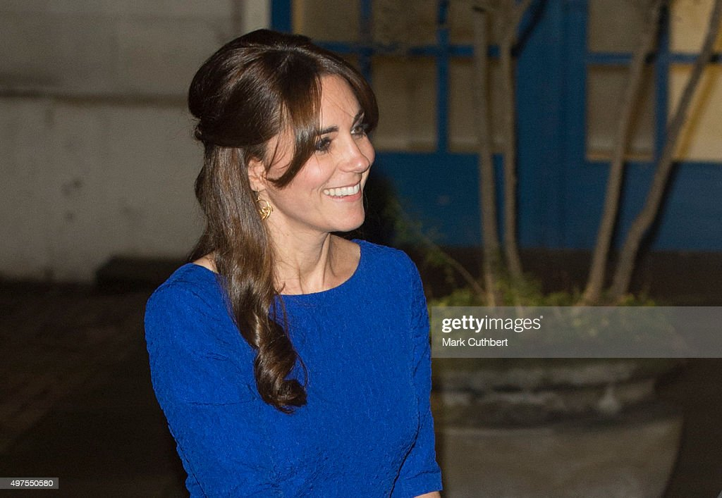The Duchess Of Cambridge Attends The Fostering Excellence Awards : News Photo