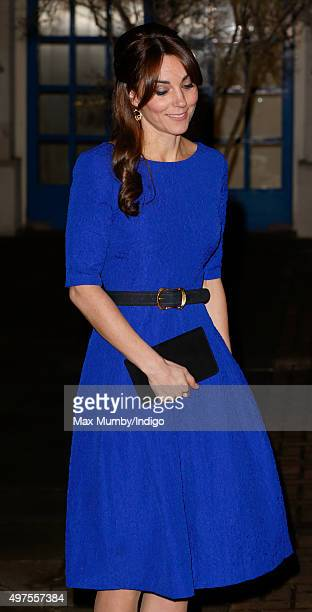 Catherine Duchess of Cambridge attends the Fostering Excellence Awards at BMA House on November 17 2015 in London England