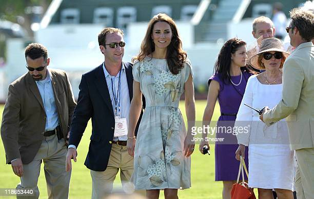Catherine; Duchess of Cambridge attends The Foundation Polo Challenge sponsored by Audi at the Santa Barbara Polo & Racquet Club on July 9, 2011 in...