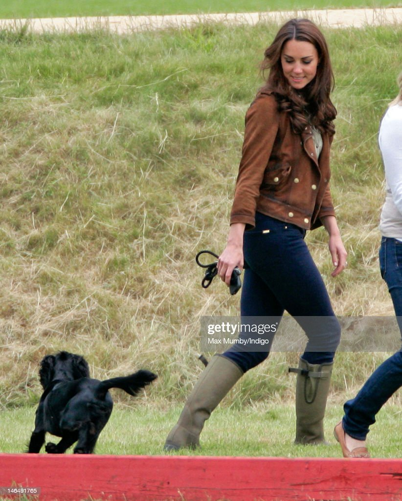 Catherine, Duchess of Cambridge attends The Golden Metropolitan Polo Club Charity Cup polo match, in which Prince William, Duke of Cambridge and Prince Harry played, at the Beaufort Polo Club on June 17, 2012 in Tetbury, England.
