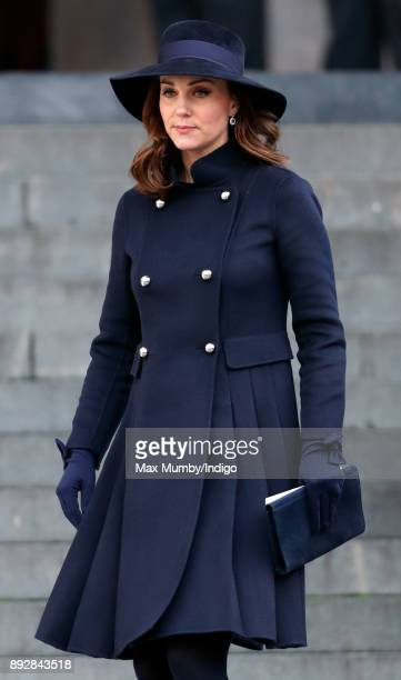 Catherine, Duchess of Cambridge attends the Grenfell Tower national memorial service at St Paul's Cathedral on December 14, 2017 in London, England....