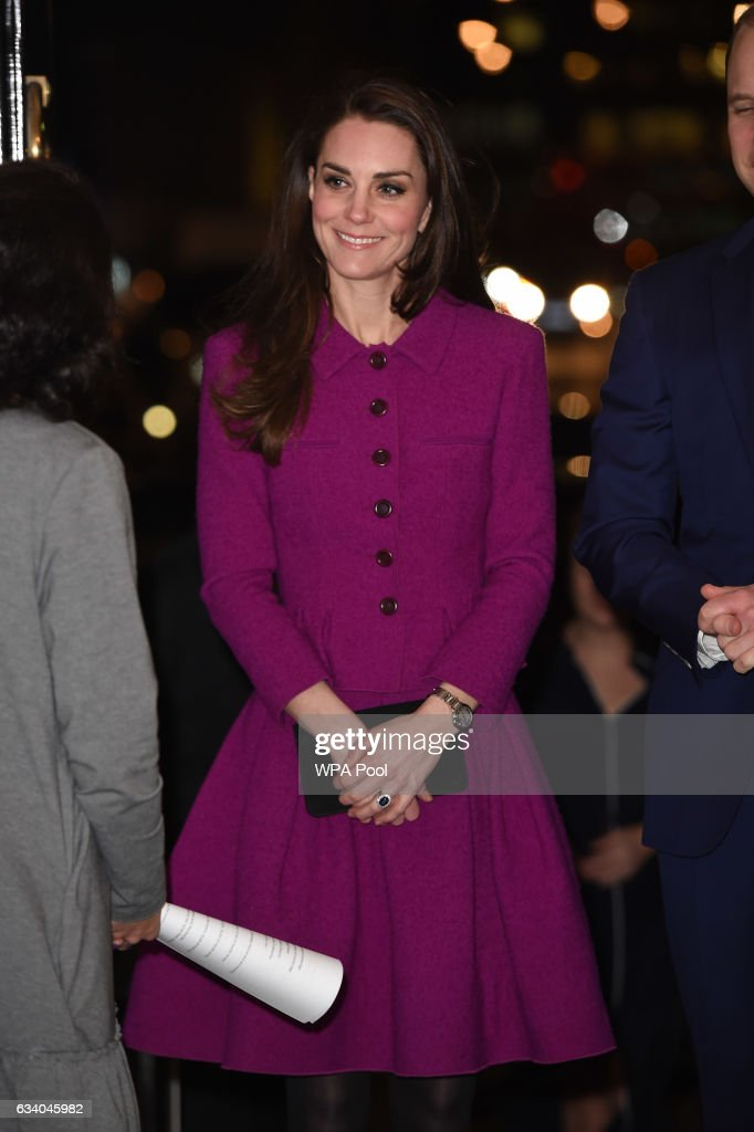 The Duke & Duchess Of Cambridge Attend The Guild Of Health Writers Conference : News Photo