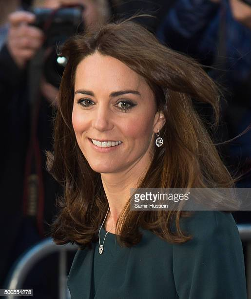 Catherine, Duchess of Cambridge attends the ICAP charity day at ICAP on December 9, 2015 in London, England.