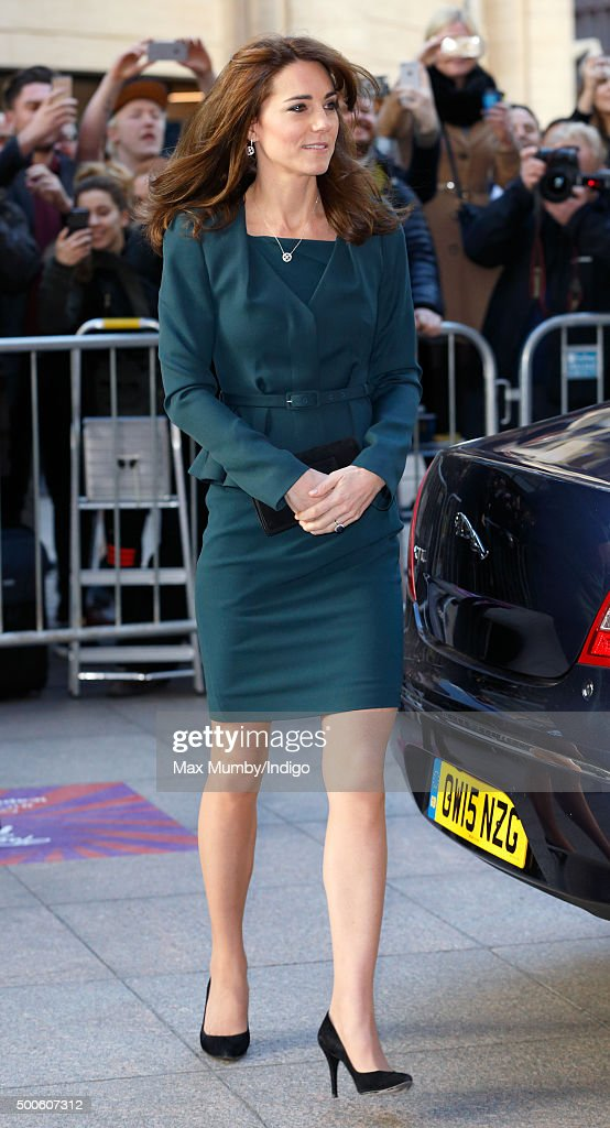 The Duke And Duchess Of Cambridge Attend The ICAP Charity Day : ニュース写真