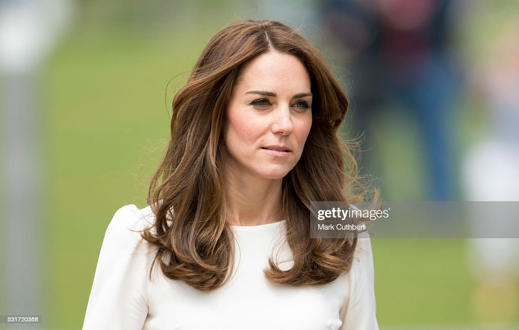 Catherine, Duchess of Cambridge attends the launch of Heads Together Campaign at Olympic Park on May 16, 2016 in London, England.