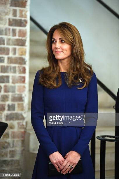 Catherine Duchess of Cambridge attends the launch of the National Emergencies Trust at St MartinintheFields on November 7 2019 in London England