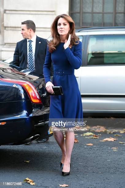 Catherine Duchess of Cambridge attends the launch of the National Emergencies Trust at St MartinintheFields on November 07 2019 in London England