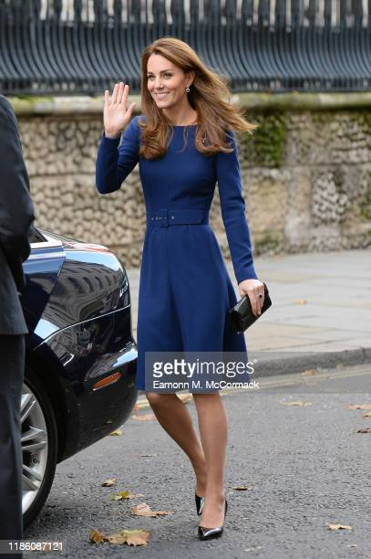 Catherine, Duchess of Cambridge attends the launch of the National Emergencies Trust at St Martin-in-the-Fields on November 07, 2019 in London,...