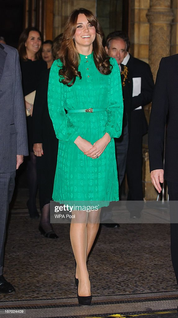 The Duchess Of Cambridge Opens The Natural History Museum's Treasures Gallery : Nachrichtenfoto