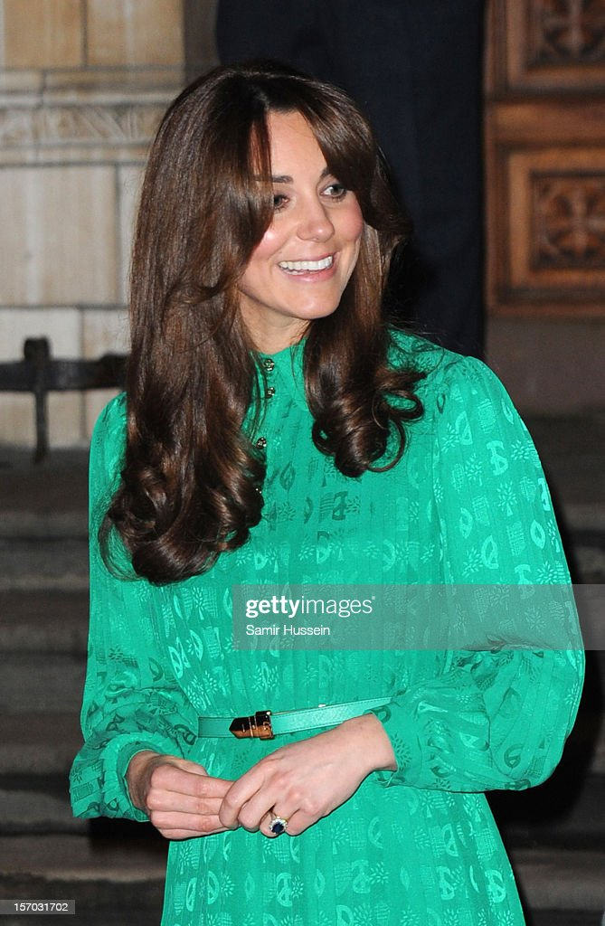 The Duchess Of Cambridge Opens The Natural History Museum's Treasures Gallery : News Photo