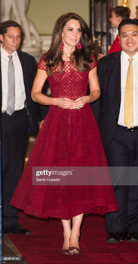 The Duchess Of Cambridge Attends The Opening Night Of '42nd Street' In Aid Of The East Anglia Children's Hospice : News Photo