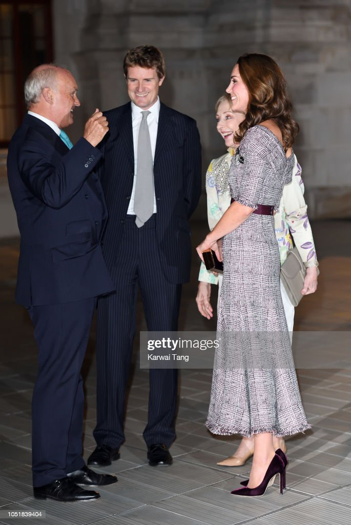 The Duchess Of Cambridge Opens The V&A Photography Centre : News Photo