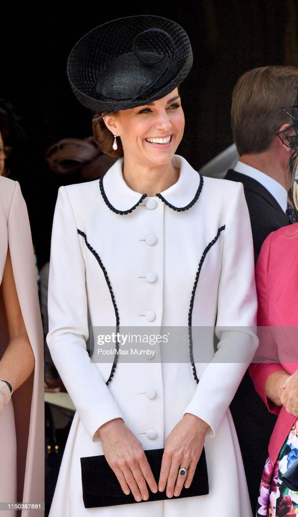 Order Of The Garter Service At Windsor Castle : News Photo
