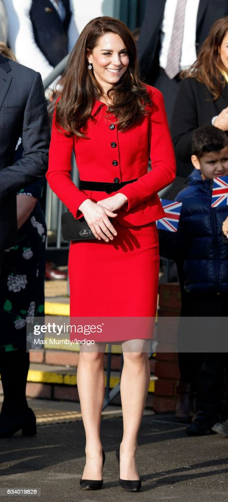 The Duke & Duchess Of Cambridge Attend Place2Be Big Assembly With Heads Together For Children's Mental Health Week : ニュース写真