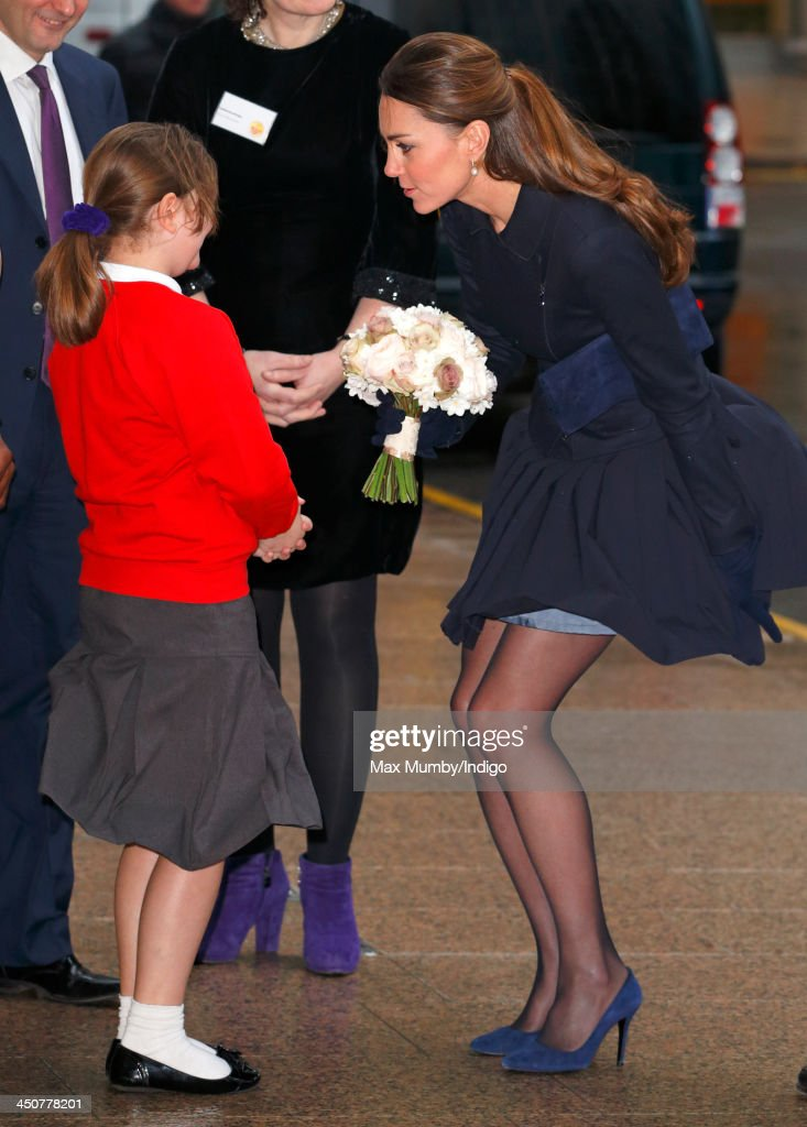 The Duchess Of Cambridge Attends Place2Be Forum : ニュース写真