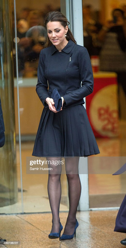 The Duchess Of Cambridge Attends Place2Be Forum : News Photo