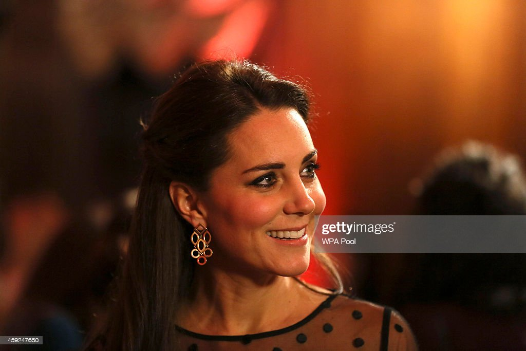 Duchess Of Cambridge Attends The Place2Be Wellbeing Schools Awards Reception : News Photo