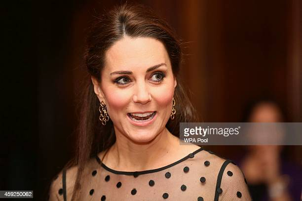 Catherine, Duchess of Cambridge attends the Place2be Wellbeing in Schools Awards Reception at Kensington Palace on November 19, 2014 in London,...