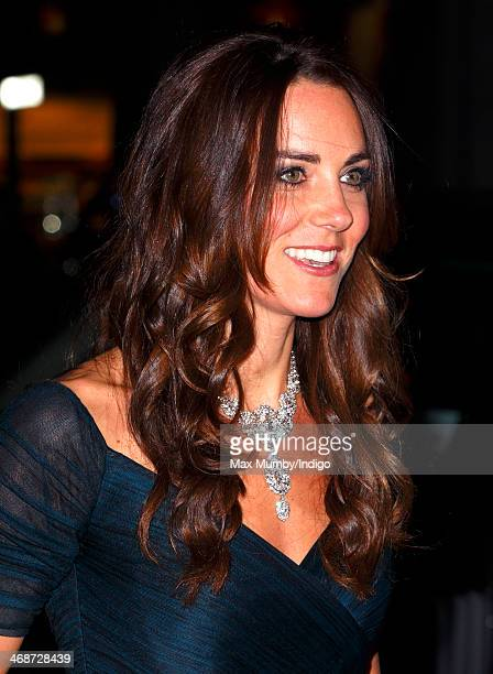 Catherine, Duchess of Cambridge attends The Portrait Gala 2014: Collecting to Inspire at the National Portrait Gallery on February 11, 2014 in...
