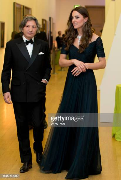 Catherine Duchess of Cambridge attends The Portrait Gala 2014 Collecting To Inspire at National Portrait Gallery on February 11 2014 in London England