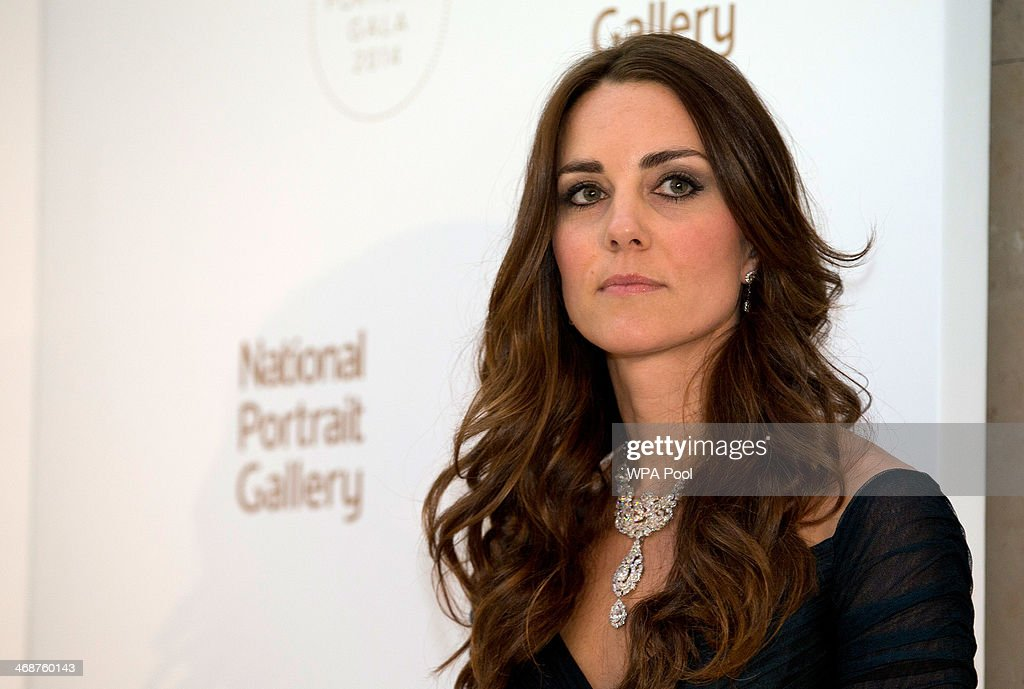 The Duchess Of Cambridge Attends The Portrait Gala 2014: Collecting To Inspire : News Photo
